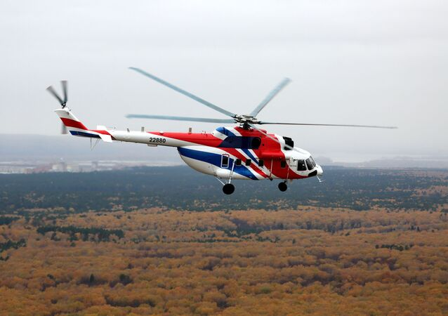 El helicóptero ruso Mi-171A2