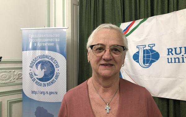 Silvia Maraczuk, estudió en Varsovia y Moscú - Sputnik Mundo