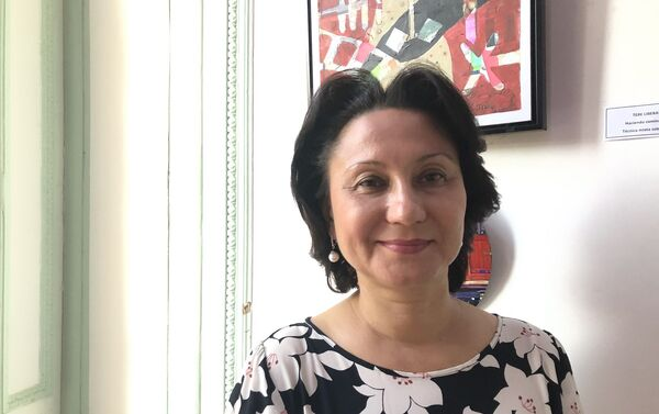 Larisa Efremova, vicerrectora de Asuntos Internacionales de la Universidad de la Amistad de los Pueblos de Rusia - Sputnik Mundo