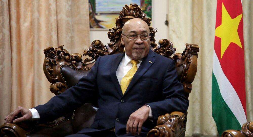 Desi Bouterse, presidente de Surinam