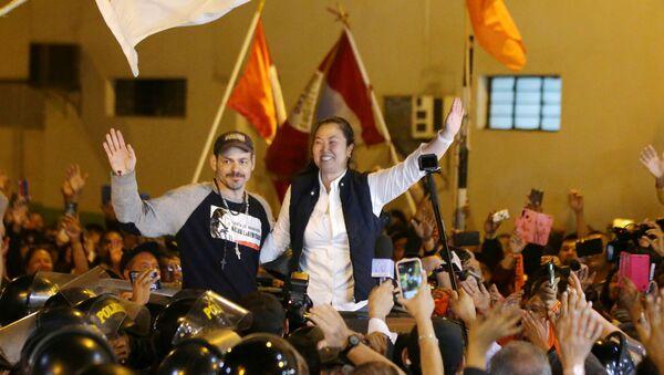 Keiko Fujimori, líder del partido peruano opositor Fuerza Popular - Sputnik Mundo