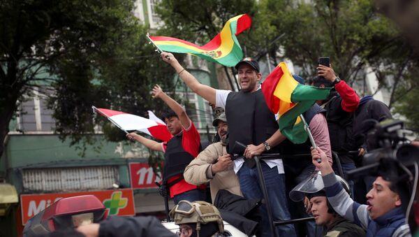 Luis Fernando Camacho, líder cívico de Santa Cruz, Bolivia - Sputnik Mundo