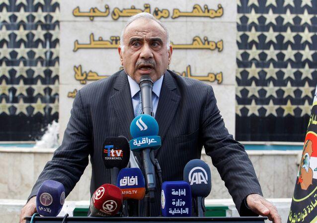 Adel Abdul Mahdi, primer ministro de Irak