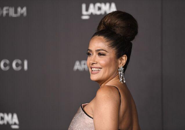 Salma Hayek, la actriz mexicana