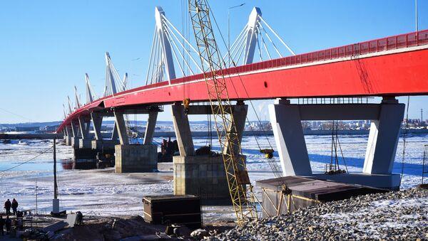 El puente que une Rusia con China - Sputnik Mundo