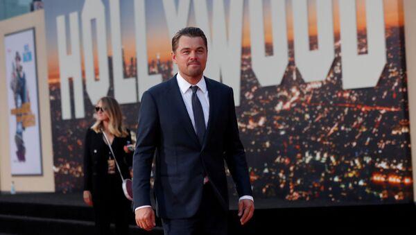 Leonardo DiCaprio, actor estadounidense - Sputnik Mundo