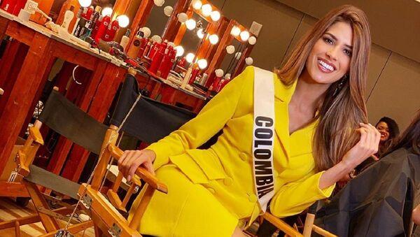 Gabriela Tafur, representante de Colombia en Miss Universo  - Sputnik Mundo