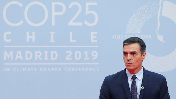 Pedro Sánchez en la inauguración de COP25 - Sputnik Mundo