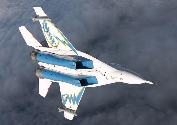 Российский многоцелевой истребитель-бомбардировщик МиГ-29ОВТ - Sputnik Mundo