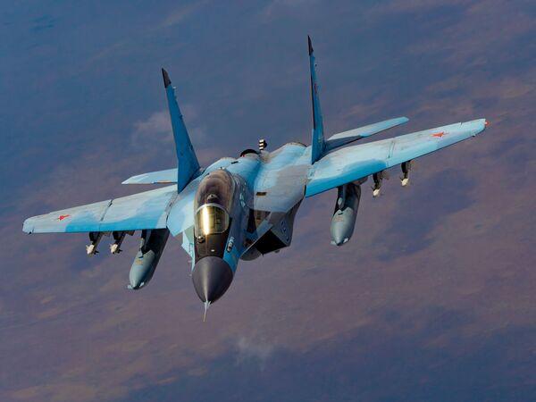 Российский палубный многоцелевой истребитель четвертого поколения МиГ-29К - Sputnik Mundo