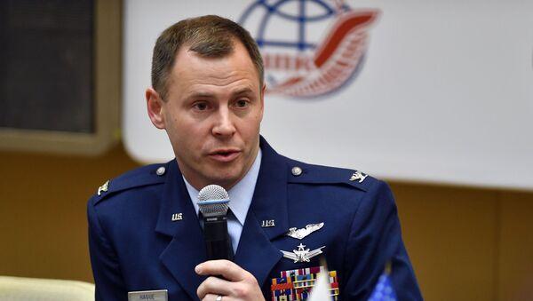 Nick Hague, astronauta estadounidense (archivo) - Sputnik Mundo