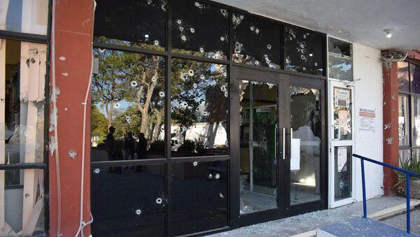 El lugar del enfrentamiento en un municipio mexicano de Villa Unión - Sputnik Mundo