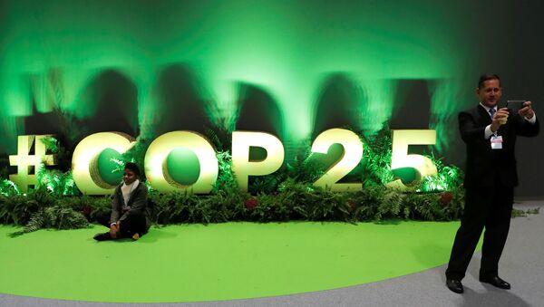 COP25 en Madrid  - Sputnik Mundo
