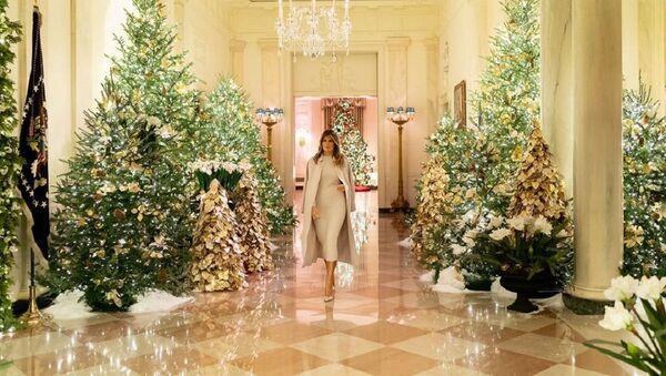 Melania Trump en la Casa Blanca - Sputnik Mundo