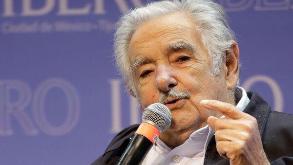 José Pepe Mujica, expresidente de Uruguay - Sputnik Mundo