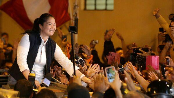 Keiko Fujimori, líder de Fuerza Popular - Sputnik Mundo