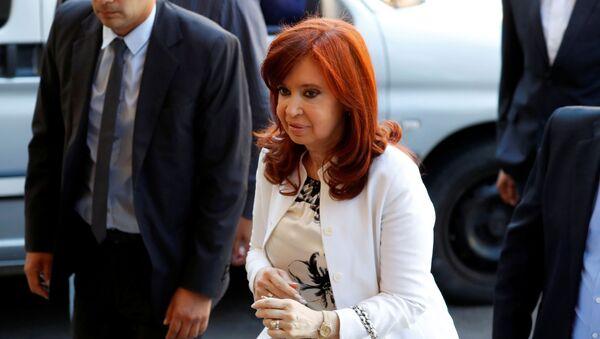 Cristina Fernández, vicepresidenta electa de Argentina - Sputnik Mundo