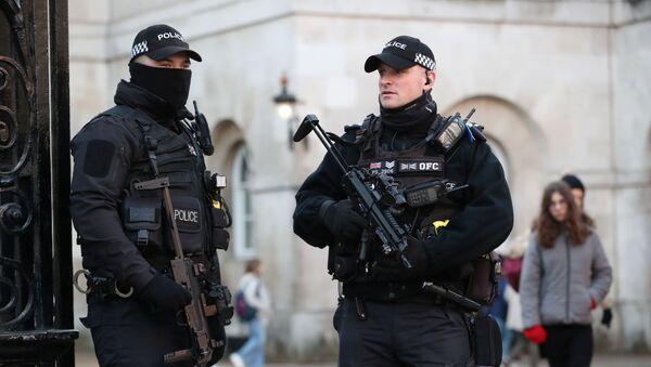 Policía británica (Archivo) - Sputnik Mundo