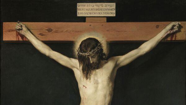 'Cristo crucificado' o 'Cristo de San Plácido' de Diego Velázquez (1632) - Sputnik Mundo