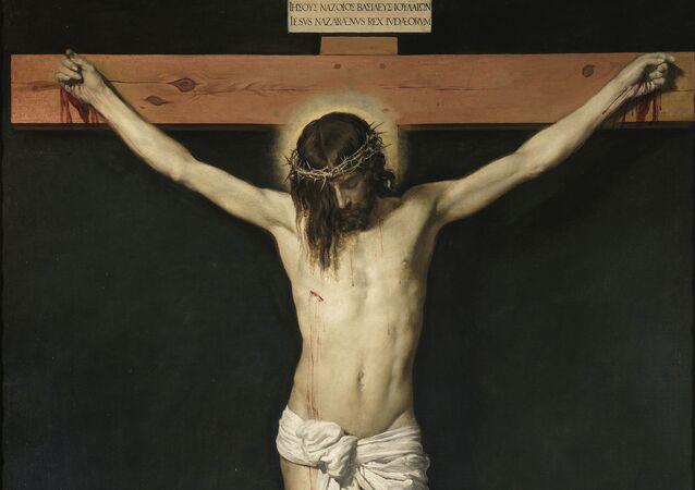 'Cristo crucificado' o 'Cristo de San Plácido' de Diego Velázquez (1632)