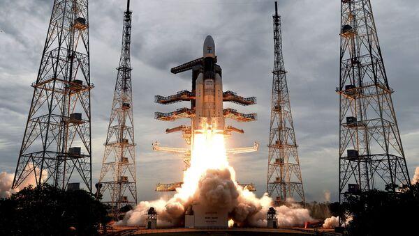 Lanzamiento de la misión lunar india Chandrayaan 2 - Sputnik Mundo