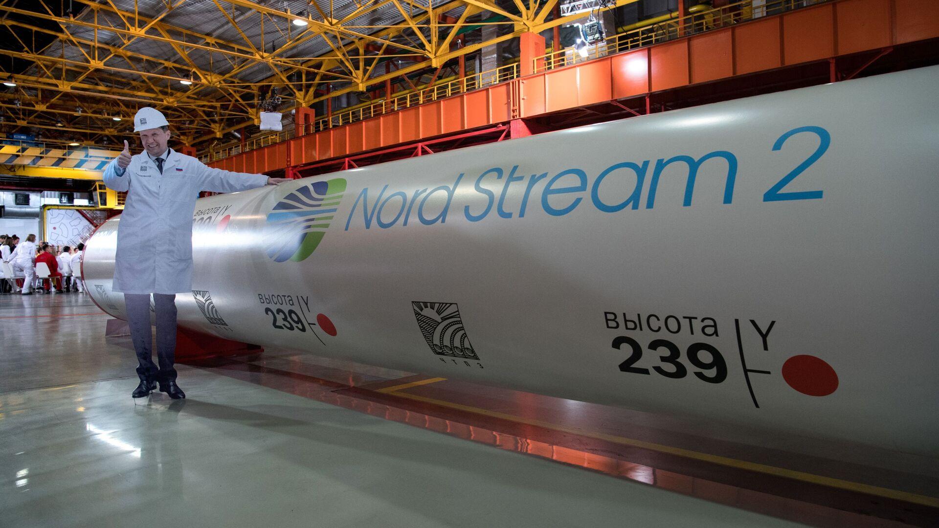 Construcción del gasoducto Nord Stream 2 - Sputnik Mundo, 1920, 21.05.2021