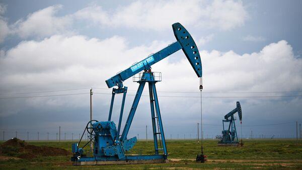 Extracción del petróleo (imagen referencial) - Sputnik Mundo