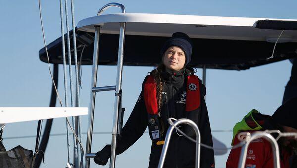 Greta Thunberg, la ecoactivista sueca - Sputnik Mundo