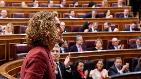 Meritxell Batet socialista eligida como presidenta de la Cámara Baja del Congreso de los Diputados de España - Sputnik Mundo