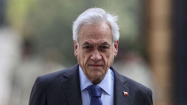 Sebastián Piñera, el presidente de Chile (archivo) - Sputnik Mundo