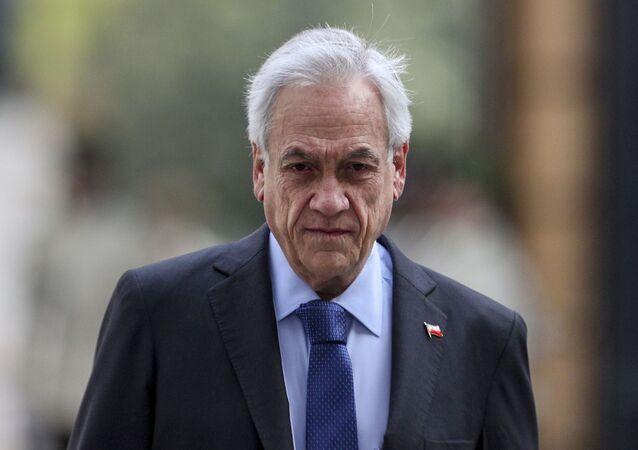 Sebastián Piñera, el presidente de Chile (archivo)