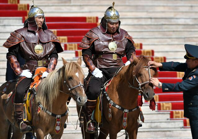 Jinetes mongoles (imagen referencial)