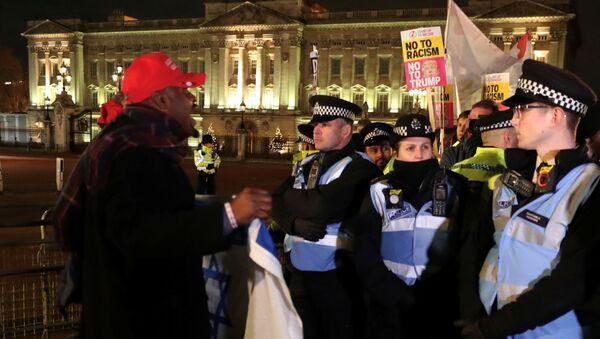 Protestas en Londres, Reino Unido - Sputnik Mundo
