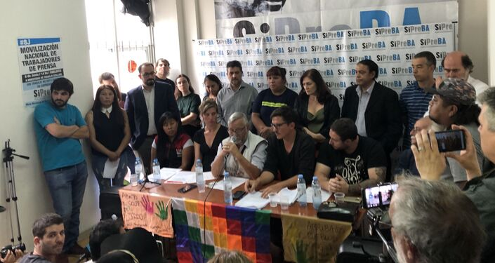 La Delegación Argentina en solidaridad con el Pueblo Boliviano presentó un lapidario informe sobre los abusos del Gobierno de facto
