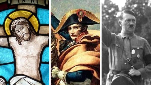 Jesús de Nazaret, Napoleón Bonaparte y Adolf Hitler - Sputnik Mundo