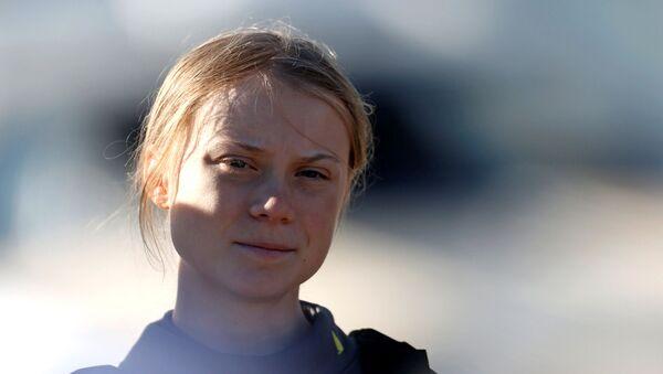 Greta Thunberg, activista climática - Sputnik Mundo
