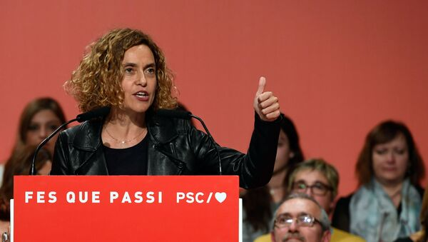 Meritxell Batet, reelegida presidenta del Congreso en España - Sputnik Mundo