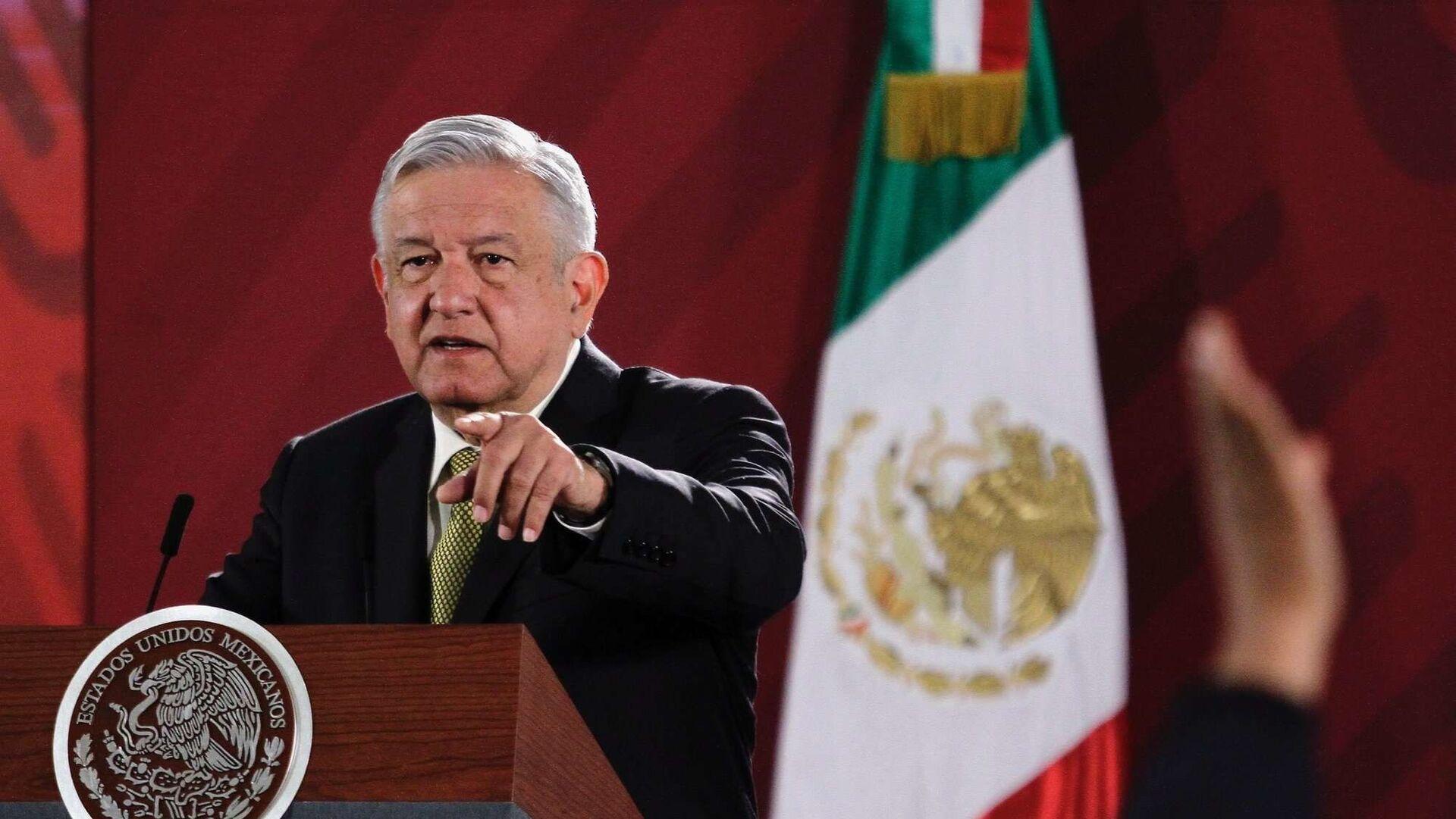 Andrés Manuel López Obrador, presidente de México - Sputnik Mundo, 1920, 12.04.2021