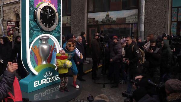 Cuenta atrás para la Euro 2020 en San Petersburgo - Sputnik Mundo