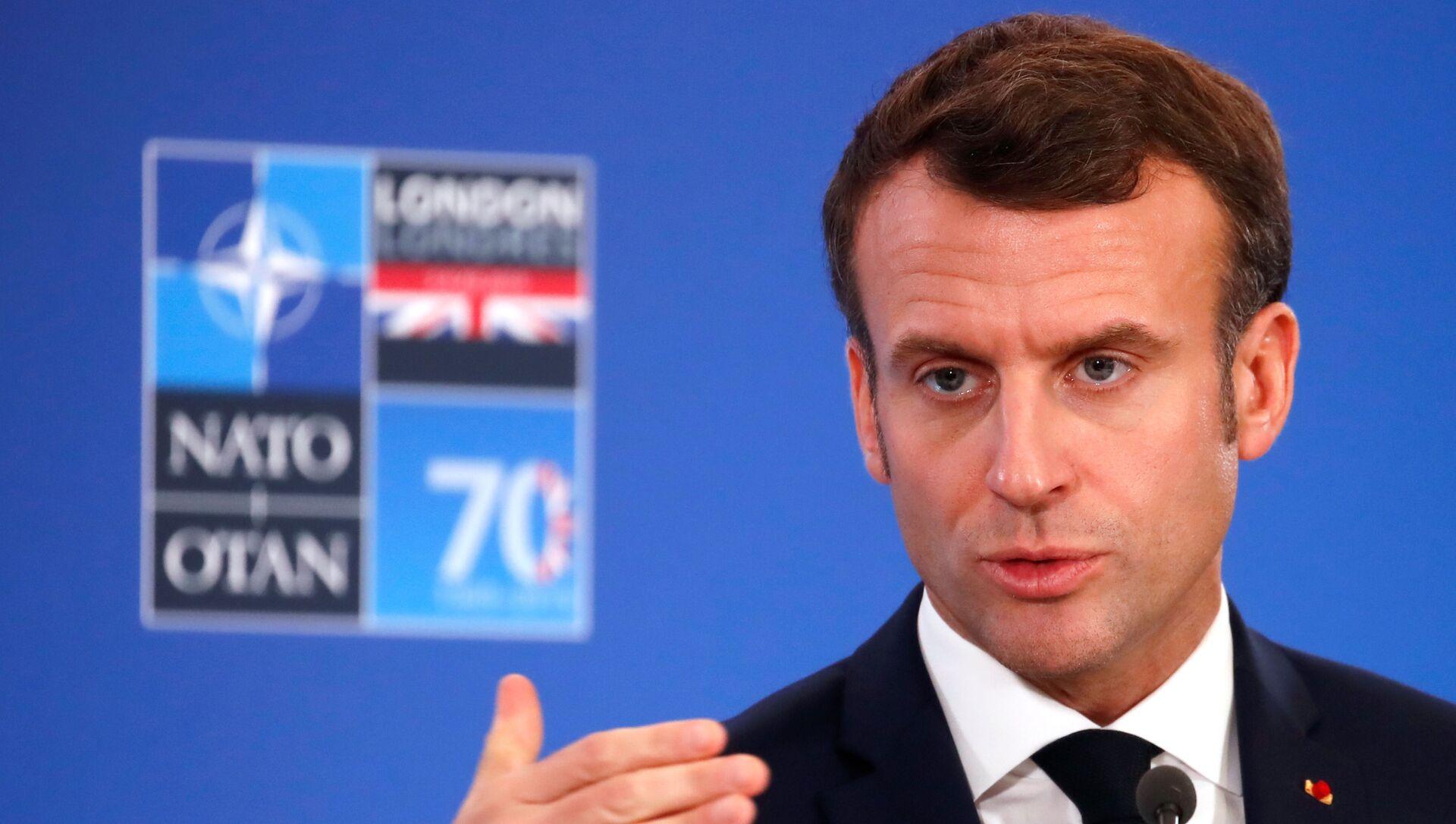 Emmanuel Macron, presidente de Francia - Sputnik Mundo, 1920, 04.12.2019