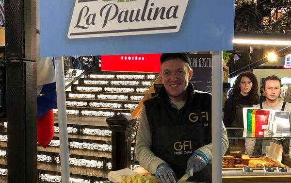 Día de Argentina en el Mercado Central de Moscú, Rusia - Sputnik Mundo