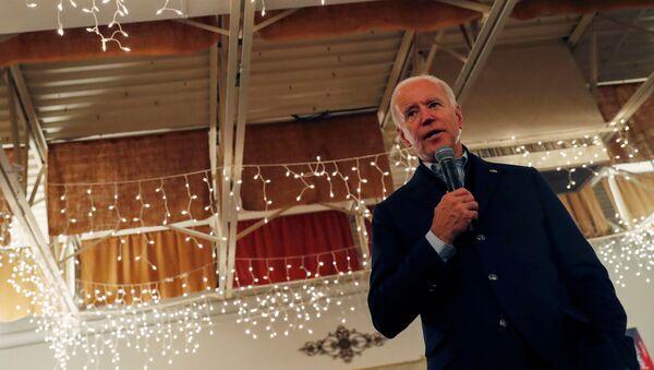 Joe Biden, exvicepresidente de Estados Unidos - Sputnik Mundo