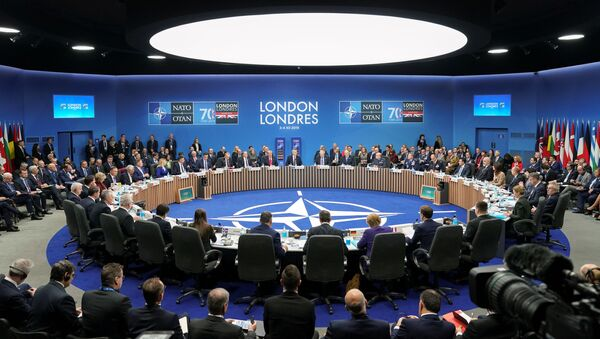 La cumbre de la OTAN en Londres - Sputnik Mundo
