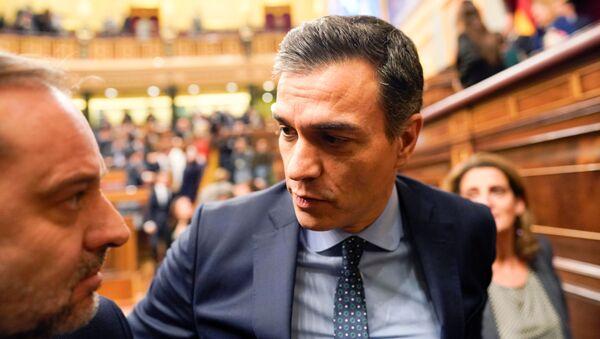 Pedro Sánchez, el presidente en funciones del Gobierno de España - Sputnik Mundo