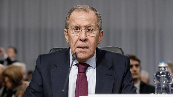 Serguéi Lavrov, el canciller de Rusia - Sputnik Mundo