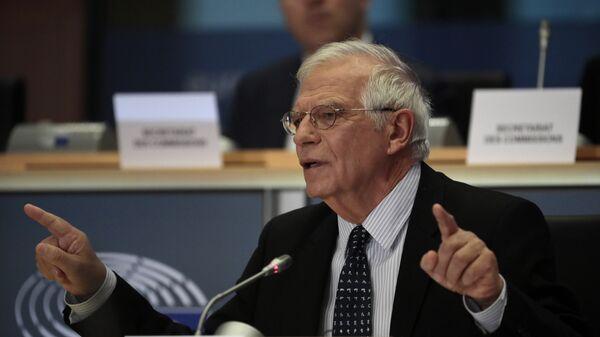 Josep Borrell, el jefe de la diplomacia de la UE - Sputnik Mundo