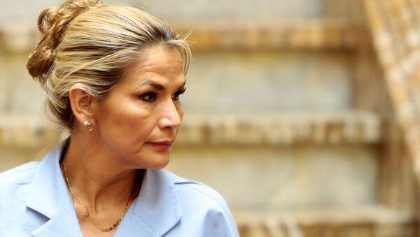 Jeanine Áñez, presidenta de facto de Bolivia - Sputnik Mundo