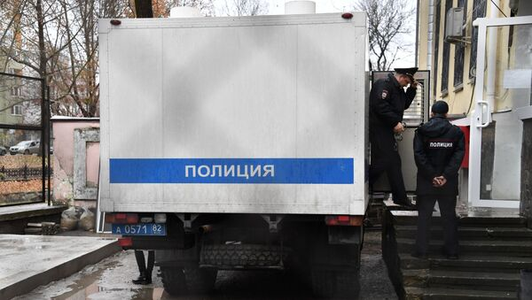 Agentes de la Policía, foto de archivo - Sputnik Mundo