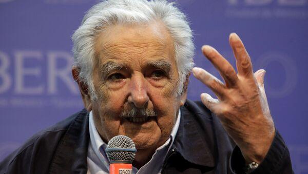 José Mujica, expresidente uruguayo - Sputnik Mundo