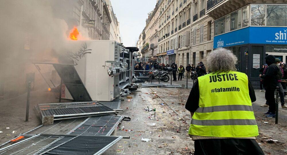Protestas por la reforma de las pensiones en Francia